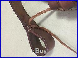 WWI & WWII British Lee Enfield SMLE Leather Rifle Sling x LOT of 5 Slings