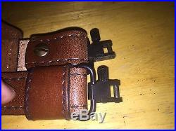 Weatherby Cowhide Leather TOREL 4770 Elephant Rifle Gun Sling with Swivels