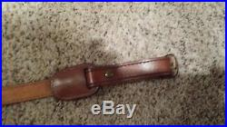 Weatherby Elephant Leather rifle sling Hard to find