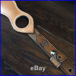 Western Americana SASS Cowboy Action RROW TOOLED SPORTING RIFLE SLING #6