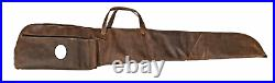 Winston Collection Crazy Horse Ultra Thick Leather Gun Case 52.5 DeBossed MC
