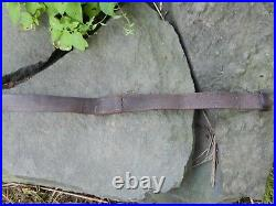 Wwi British Smle Leather Rifle Sling Cole Bros. 1916 Very Nice