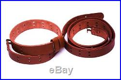 (pack Of 10) Wwii Us M1 Garand Rifle M1907 Leather Carry Sling